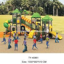outdoor plastic slides playground tube slide with park buy