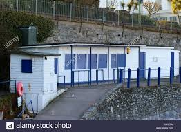 torquay seafront beach huts stock photo royalty free image
