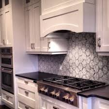 kitchen backsplash with white cabinets black countertops and white cabinets design ideas of backsplash