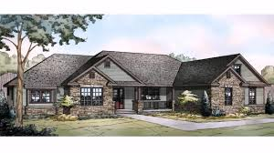 Luxury Ranch House Plans For Entertaining Contemporary House Plans Single Story Small Ranch Style With Open