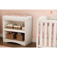South Shore Andover Changing Table South Shore Peek A Boo Changing Table White Color White