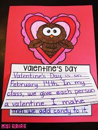 miss giraffe u0027s class february writing prompts
