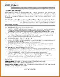 Sample Resume Secretary by Secretary Resume Best Legal Secretary Cover Letter Examples