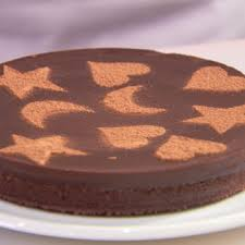Simple Cake Decorating How To Stencil A Cake Cake Decorating Ideas
