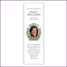 memorial bookmarks memorial bookmarks from sprinter memorial cards keepsakes of your