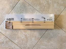 Ikea Paper Roll Diy Vintage Paper Cutter Less Than 7 House Of Hargrove