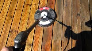 Patio Scrubber by Deck Scrubber Mov Youtube