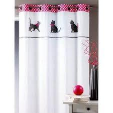 rideau chambre d enfant rideau enfant chats décoration chambre d enfant rideau prêt à poser