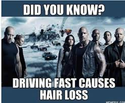 Fast And Furious Meme - fast and furious hair fall funny pinterest