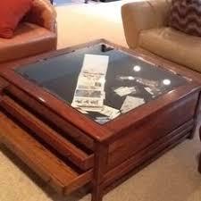bob timberlake glass top coffee table bob timberlake large coffee table w glass top map table w drawers