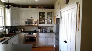 White Inset Kitchen Cabinets by Kitchen Room Enchanting White Tile Backsplash With Solid Wood