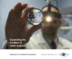 Preventing Blindness Rpb Annual Reports Research To Prevent Blindness