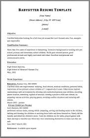 Babysitter Resume Samples by 1902 Best Free Resume Sample Images On Pinterest Cover Letters