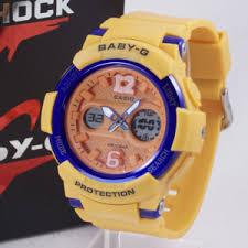 Jam Tangan Baby G Warna Merah baby g bga 210 kuning 盪 jam tangan grosir termurah