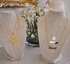 Monogramed Jewelry Monogram Jewelry Sale The Buggy Blog
