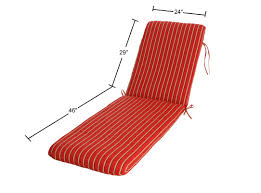 Sunbrella Outdoor Cushion Buyers Choice Phat Tommy Outdoor Sunbrella Chaise Lounge Cushion