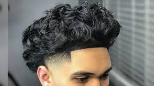 taper fade curly hair curly hair high taper fade haircut tutorial self cut youtube