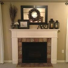 mantel decorating ideas with mirror best fireplace decorations on