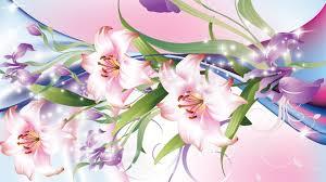Purple Lillies Flowers Stars Sparkle Summer Flowers Sparkles Lilies Iris Purple