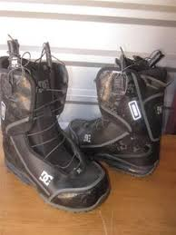 womens size 9 in ski boots dc snowboard boots womens size 9 model siloh pre owned