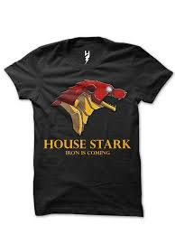 house stark game of thrones from xteas awesome t shirt design