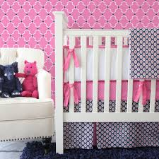 Pink And Blue Crib Bedding Best Preppy Bedding Sets Today All Modern Home Designs