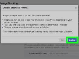 block facebook invites how to unblock someone on facebook 13 steps with pictures