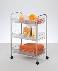 rollregal küche etagen rollwagen mesh 17720 z de küche haushalt