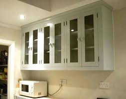 Glass Door Wall Cabinet Kitchen Kitchen Wall Cabinets With Glass Doors Ellajanegoeppinger Mounted