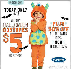 all baby up to 5t halloween costumes only 5 at old navy