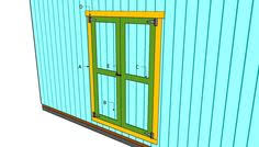 Building Plans Garages My Shed Plans Step By Step by How To Build Double Shed Doors Howtospecialist How To Build