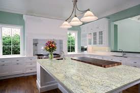 granite countertop kitchen cabinets with shelves moroccan tiles