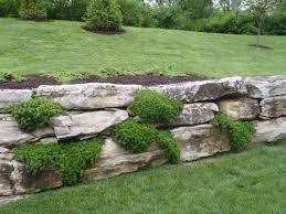 landscaping st louis natural stone steps boulder retaining