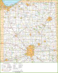 Map Of Northern Wisconsin by Map Of Northern Indiana