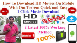 how to download full hd movies on android phone latest 100