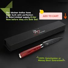 luxury kitchen knives haoye 3 5 inch paring knife japan damascus stainless steel small
