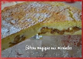 cuisiner les mirabelles gâteau magique aux mirabelles la cuisine de lilly