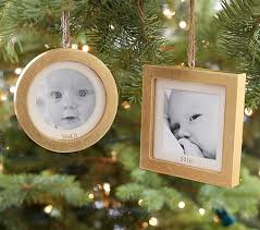 gold leaf frame ornaments pottery barn