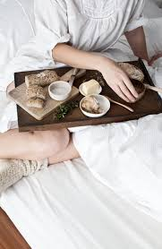 Breakfast In Bed Table by In Bed Photography And Styling By Sanda Vuckovic