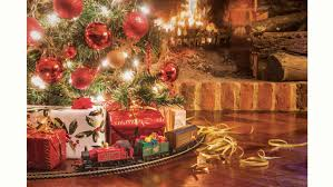 hornby santa u0027s express christmas train set at mighty ape nz
