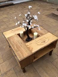 wine crate coffee table repurposed wine box coffee table wine boxes repurposed and wine