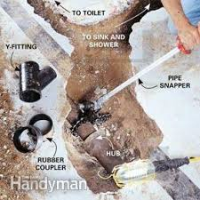 How Much Does It Cost To Fit A New Bathroom How To Plumb A Basement Bathroom Family Handyman