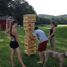 Christmas Party Games For Large Groups Of Adults - what giant jenga awesome 5 amazing outdoor party games for a