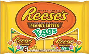 peanut butter eggs for easter reese s easter peanut butter eggs 1 2 oz 6 count