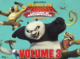 amazon com kung fu panda legends of awesomeness volume 3 amazon