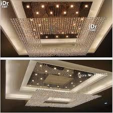 Lighting Fixtures Chandeliers Large Hotel Lobby Hall Crystal Lamp Crystal Lamp Lighting Fixtures