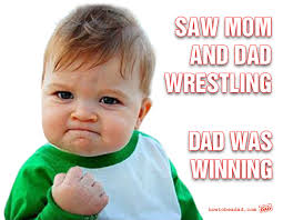 Winning Baby Meme - when your kid discovers you uhhh humour laughter and funny things