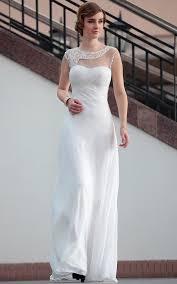 great white rehearsal dinner dress design 5939