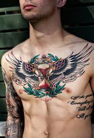 40 inspirational breast tattoos and chest tattoos inkdoneright com