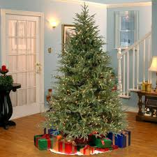 fraser fir christmas tree national tree co fraser 7 5 green artificial christmas tree with